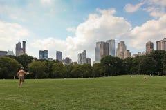 środkowy nowy parkowy York Obrazy Royalty Free