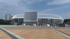 Środkowy Olimpic stadium, Kijów, Ukraina zbiory