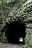 środkowy pa linii kolejowej tunel Obrazy Royalty Free