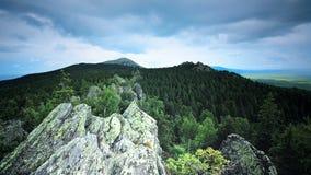 Środkowy Urals Rosja Taganay park narodowy w Zlatoust blisko Chelyabinsk Zdjęcia Royalty Free