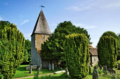 Rodmell Church in East Sussex Stock Image