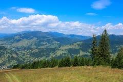 Rodnei Berge, nahe Borsa Rücksortierung Stockfotografie