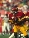 Rodney Peete do Trojan de USC Foto de Stock Royalty Free