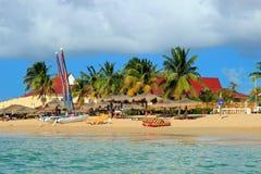 Rodney zatoka, St Lucia Zdjęcie Royalty Free