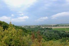 Rodnye prostory, région de Krasnodar, Russie Images libres de droits