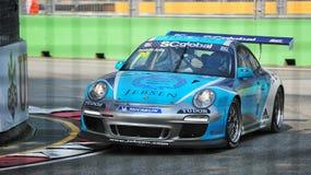 Rodolfo Avila racing at Porsche Carrera Cup Asia Stock Photos
