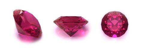 Rodolite gems Stock Image