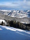 Rodopi mountain. Winter picture of Rodopi mountain Bulgaria Stock Photography