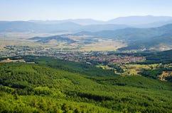 Rodopi mountain panorama Royalty Free Stock Photography