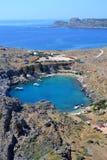 Rodos的Heart湖 库存照片