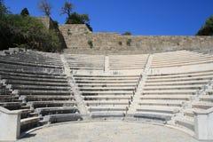 Rodos - acrópolis Imágenes de archivo libres de regalías