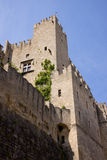 Rodos castle Royalty Free Stock Photography