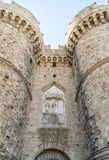 Rodos castle . Royalty Free Stock Image