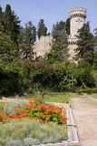 Rodos castle Royalty Free Stock Images