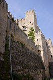 Rodos castle. Of the knight in the city of rodos greece Royalty Free Stock Photos