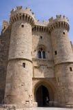 Rodos castle Stock Images