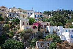 Rodos Rhodes Simi et x27 ; île de s photos libres de droits