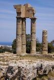 Rodos ruins Royalty Free Stock Photos