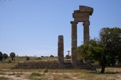 Rodos ruins Stock Photo