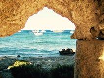Rodos. Sea island holiday Hot Royalty Free Stock Image