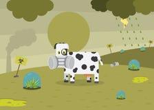 środowiska zanieczyszczenie royalty ilustracja
