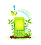 środowiskowy telefon Ilustracja Wektor