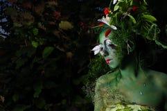 środowiskowy twarzy zieleni obraz Zdjęcie Royalty Free