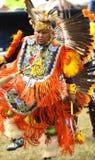 Rodowitego Amerykanina pow no! no! tancerze fotografia royalty free