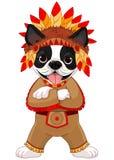 Rodowity Amerykanin Boston Terrier royalty ilustracja