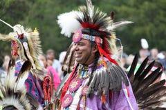 Rodowity Amerykanin przy Pow no! no! Fotografia Royalty Free