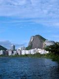 Rodrigo de Freitas lagoon Royalty Free Stock Images