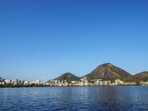 Rodrigo de Freitas Lagoon in Rio Stock Foto