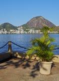 Rodrigo de Freitas Lagoon in Rio Royalty Free Stock Photography