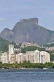 Rodrigo de Freitas Lake. With gavea rock at background Royalty Free Stock Image