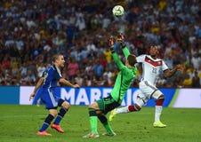 Rodrigo Palacio , Jérome Boateng and Manuel Neuer Coupe du monde 2014 Stock Image