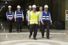 Rodrigo Vieira Rio government's transport secretary show Rio Metro works Stock Photos