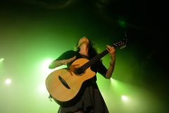 Rodrigo y Gabriela band from Mexico in concert at Razzmatazz stage Royalty Free Stock Image