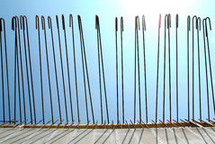Rods for construction Stock Images
