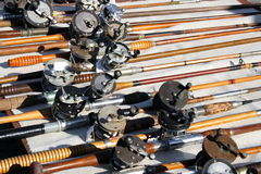Rods and Reels Stock Images