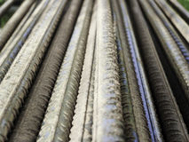 rods of reinforcing steel Stock Image