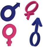 rodzajów symbole Zdjęcie Royalty Free