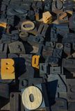 rodzaj drewna bloku Obrazy Royalty Free