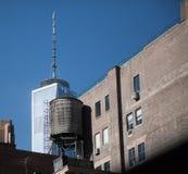 Rodzajowa architektura Manhattan Obraz Royalty Free