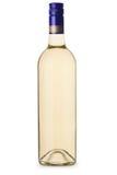 Rodzajowa białego wina butelka bez etykietki Fotografia Royalty Free