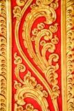 Rodzajowa Tajlandzka sztuki rzeźba zdjęcie royalty free