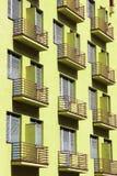 Rodzajowy blok mieszkalny Zdjęcia Stock