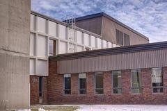 Rodzajowy budynek szkoły Zdjęcia Stock