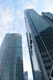 Rodzajowy budynku biurowego drapacz chmur Fotografia Royalty Free