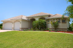 rodzajowy Florida dom Zdjęcie Royalty Free