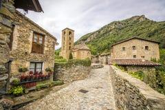 Rodzi średniowieczną wioskę Zdjęcia Royalty Free